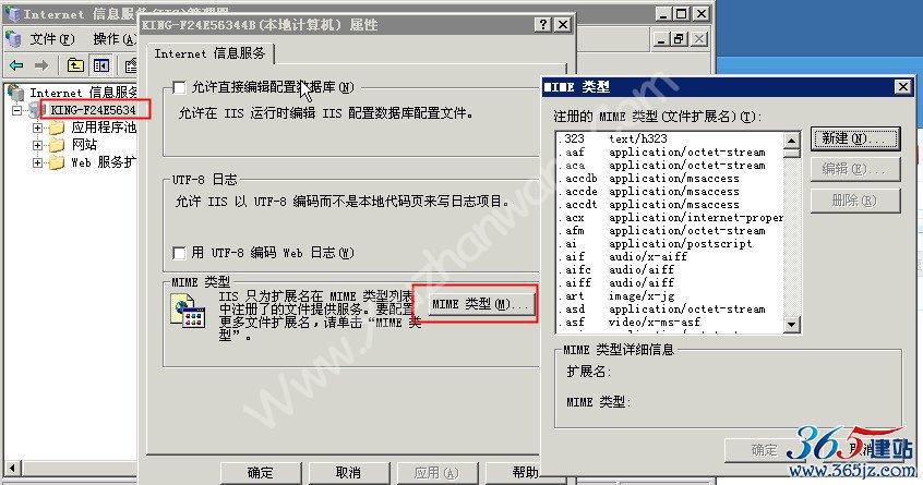 IIS服务器设置开启.SVG文件支持